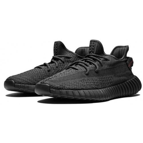 Кроссовки Adidas Yeezy Boost 350 v2 'Black Reflective'