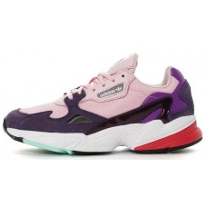 Женские кроссовки Adidas Originals Falcon W 'Pink/Purple/White'